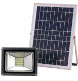 Lumière d'inondation solaire de lampe à télécommande d'IP65 DEL pour la maison