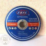 Reforzado cortando el disco para la piedra -300X3X20