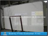 Polierweiße Marmorkristallfliesen für die Wand oder Fußboden dekorativ