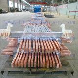 Plaque de plomb de l'anode de cuivre électro-extraction/Électroraffinage/électrolyse