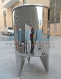100L de aço inoxidável sanitário depósito de mistura de cosméticos de aquecimento por vapor