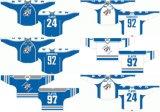 Liga de Hóquei de Ontário personalizados Sudbury Wolves 1989-2012 Estrada Inicial Hóquei no Gelo Jersey