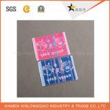 Autocolante de vestuário personalizado pano de impressão personalizado Veste roupas etiqueta de tecido