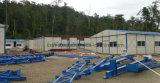 Oficina de la estructura de acero y dormitorio prefabricados ligeros
