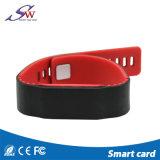 Lf Hf tissu Bracelet d'identification RFID UHF pour l'adhésion