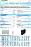 Vorderes Terminal Battery 12V180ah mit CER RoHS UL