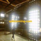 2.1m (H) rete fissa ornamentale tubolare dell'acciaio dell'Australia del germoglio di *2.4m (w)