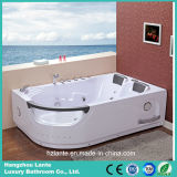 Massagem Bathtub com diodo emissor de luz Light (TLP-665 Computer Panel Control)