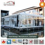 Tent van de Spanwijdte van de luxe de Duidelijke met de Muur van het Glas voor 500 Partijen van het Huwelijk van de Capaciteit van Mensen