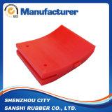 De Delen van de douane Pu met Rode Kleur