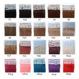Großverkauf-Fabrik-Preis-Haut-einschlagjungfrau Remy Kastaniebrown-Band-Haar der Qualität-#6