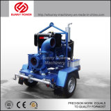 Nuevo estilo de la serie Jt 6 pulgadas de autocebado con motor Diesel Bomba de agua de la basura