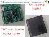 Разноязычная контрольная программа фонтана нот DMX