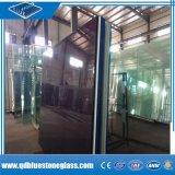 Manufactory do vidro laminado do edifício da segurança de 3mm-12.38mm com as películas coloridas de PVB