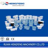 Kippen der Plastikcup Thermoforming Maschine für Wasser-Glas, Getränkecup mit dem automatischen Stapeln und die Zählung