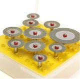 conjunto de rueda del atajo de los discos del corte del diamante 10PCS (GMH0012)