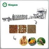 Linha automática da produção alimentar do animal de estimação