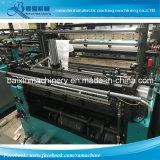 Ha doppie righe sacchetto del video calcolatore di plastica automatico pieno della maglietta fare la macchina per il sacchetto nero stampato o bianco del LDPE, dell'HDPE