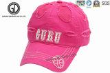 Stickerei 100% der Qualitäts-Baumwolle3d Sports Baseball-Hut, Schutzkappe