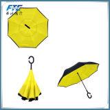 13のカラーカスタマイズされる熱い販売は二重層の逆にされた傘を選択する