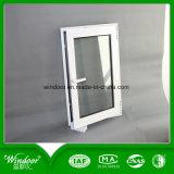 Double guichet en verre isolant de PVC avec le matériel de Kinlong