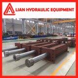 Tipo regulado personalizado cilindro hidráulico para a indústria metalúrgica