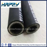 Fil d'acier à haute pression de l'huile hydraulique en caoutchouc flexible en spirale R9