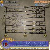 Металлические двери стальные ворота ограждения в саду питание из кованого железа покрытие стальной линейке утюг конструкций ограждения