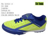 Drie Voetbalschoenen van de Schoenen van de Jonge geitjes van Kleuren Pu