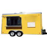 食糧販売のトレーラーのアイスクリーム機械食糧カートかキャラバンの発動機の食糧カート