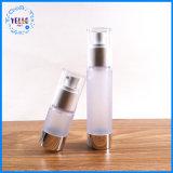 Venda quente 100ml frasco de loção de plástico PET transparente
