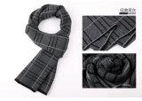 Полиэфира шерстей зимы людей шарф теплого Nylon акриловый сплетенный (YKY4604)