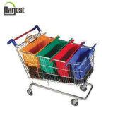 Ensemble complet de différentes couleurs sacs chariot non tissé pour les supermarchés