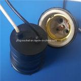 Anillo de cobre recubierto de aluminio, portalámparas de PVC o de porcelana o baquelita (L-