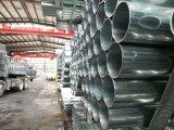 La ronda previa de tubos de acero galvanizado