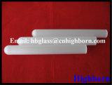Hoher Reinheitsgrad-undurchlässige runde untere Silikon-Quarz-Glas-Hülse