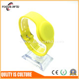 Bracelete do silicone da alta qualidade MIFARE RFID para o controle de acesso