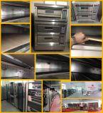 Forno di cottura del forno 1-Deck 2-Trays dell'acciaio inossidabile per il gas della torta e del pane