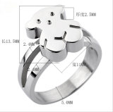 Steel di acciaio inossidabile Jewelry Lady Fashion Ring (hdx1076)