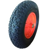 """16 """" roues pneumatiques simples pour le camion de brouette et de main"""