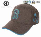 Gorra de béisbol cómoda fresca de la manera del OEM con la divisa especial