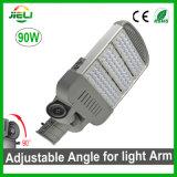 Ajustable de buena calidad LED 90W de luz de la calle