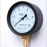 Calibre de pressão da cápsula da conexão da parte inferior do aço inoxidável