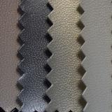 Spunlaceの裏付け(HST016)が付いているヤギのヒツジの穀物のライニングPUのイミテーション・レザー