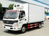 Foton 6 rotelle latte e camion di trasporto di raduno vagone di frigorifero di 6 T