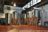 Réservoir lumineux 100/120L isolé vertical de bière d'acier inoxydable