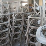 Cruz de madeira chineses de qualidade As medulas X volta Mat Banquetes Fabricante cadeira