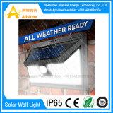 Wasserdichtes IP65 an der Wand befestigtes Solar-LED im Freiengarten-Licht für Yard