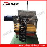 Máquina hidráulica de fabricação de chapas de matrícula