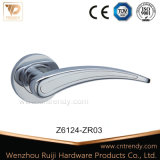 Алюминиевый сплав или оцинкованные двери ручку рычага закрывается (Z6124-ZR03)